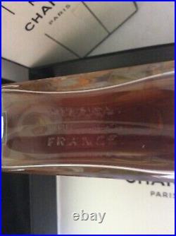 100%Authentic Very rare GM(Large)4oz(120ml) Vintage Chanel No. 5 perfume extrait