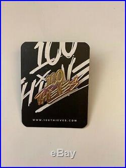 100 Thieves Official Logo Pin Nadeshot VERY RARE