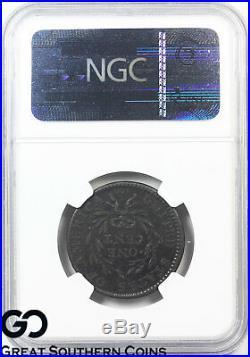 1794 Large Cent, Flowing Hair Liberty Cap NGC XF 40 Bn Very Rare