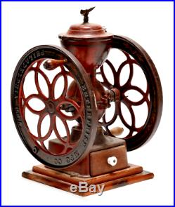 1873 Very Rare Antique Large Enterprise Coffee Mill Grinder
