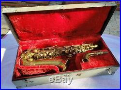 1945 Conn 6M VIII Alto Saxophone RARE Large Font VIII VERY NICE