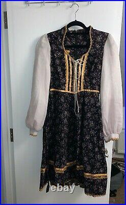 70's gunne sax dress large 13 very rare