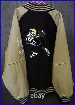 Adidas Vintage Letterman San Diego Chargers Jacket Very Rare! Free Shipping