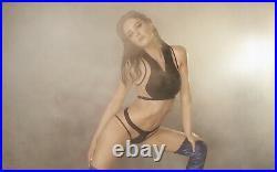 Agent Provocateur MARLENE Bikini Set L/4 NWT Black Orig. $430 VERY RARE