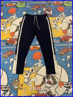 Aime Leon Dore Sweatpants Size Large Navy Vintage Vtg Authetic Very Rare Used