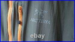 Arc'teryx Squamish in Basalt, Very Rare Colour Wind Jacket Mens Size Large