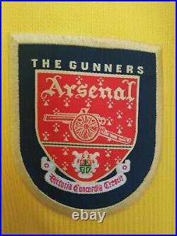 Arsenal Nike Away Kit 1999-2001 L Large Football Shirt Very Rare