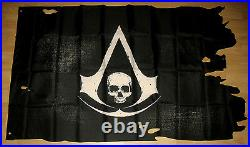 Assassins Creed 4 Black Flag promo FLAG Large about 140x80cm very Rare Gamescom