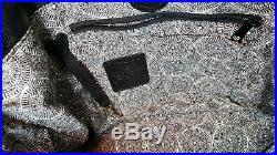 BRIGHTON FERRARA RAFAELA TOTE BLACK With BEECHWOOD ACCENTS MRP$460 VERY RARE COLOR