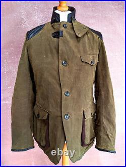 Barbour X Land Rover Boneyard / Roadster coat Very Rare Large mega rare jacket