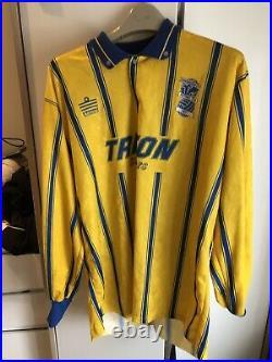 Birmingham City Away Shirt Very Rare 1993/94 Large