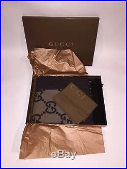 Brand New Never Taken Out Of Box Very Rare Gucci Gg Monogram Extra Large Blanket