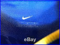 CABJ Boca Juniors Nike Libertadores L/S Soccer Jersey Very Rare
