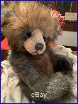 Charlie Bear'dakota', Large Handsome, Plumo, Limited Edition, Very Rare