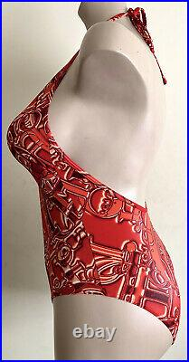 Christian Dior by John Galliano Bathing suit Swimsuit all over logo Very Rare