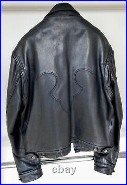 Chrome Hearts, Iconic Black Leather Jacket, Very Rare Priced To Sell