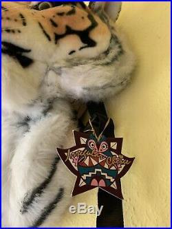 Collectors Item Irregular Choice Large Fun Fur Tiger Rucksack Bag NWT Very Rare