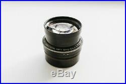 Cooke Anastigmat Aviar 254mm 10 f/4.5 Lens Large Format Vintage VERY RARE