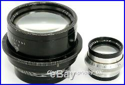 Dallmeyer PENTAC F=8'' F/2.9 A. M. Air Ministry LARGE Format Lens VERY RARE
