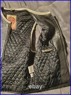 Diesel vintage leather vest, very rare