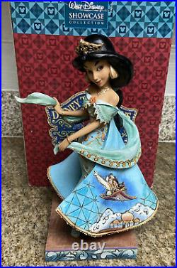 Disney Traditions Jim Shore Jasmine Shining, shimmering, Splendid VERY RARE