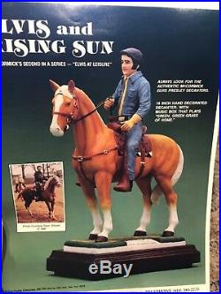 Elvis Presley McCormick Bottle Decanter Rising Sun Large 750ml Empty Very Rare