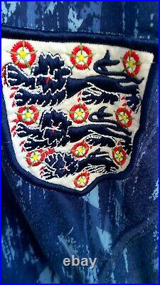 England Umbro Tracksuit Top Rare Vintage 1993 Very Rare large Xl 46 pit