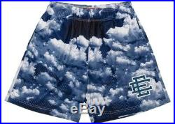 Eric Emanuel Cloud Navy Blue Sky Size Large RARE Shorts Basic EE VERY LIMITED