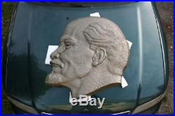 Extremely Rare, Very Large Soviet Era LENIN Plaque 32 Solid Cast 13 kg's CCCP