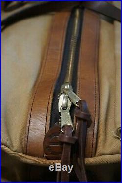 Filson Large Duffle Vintage Talon Zippers Very Rare