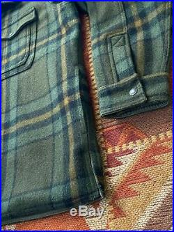 Filson Mackinaw Plaid Jac Shirt Plaid Very Rare XL Great Condition