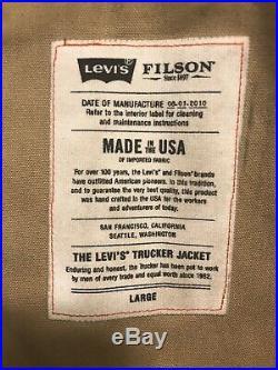 Filson x Levis Short Cruiser Very Rare! Large Amazing Patina