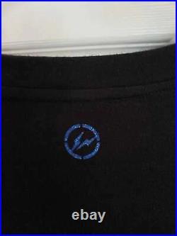 Fragment Design x Louis Vuitton Logo Tee Black Size L Archive VERY RARE