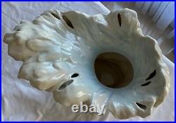 Franz Horse in Surf Large Vase Sculptured Porcelain Very rare 32cms high