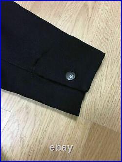 G-Star x Marc Newson Blazer SzL Men Raw Premium NWT Black Very Rare