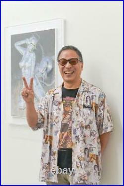 Hajime sorayama x X large Collaboration Sexy robot t-shirt Size S Very Rare