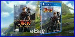 Jak IV 4 Commemorative Mock Case PS4 Limited Run Games LRG Very Rare New Sealed