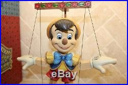 Jim Shore VERY RARE Large Pinocchio Marionette 70th Anniversary 4016583 NIB