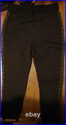Lacoste Live X A Bathing Ape Black Sweat Pants Joggers NWT Size L/5 Very Rare