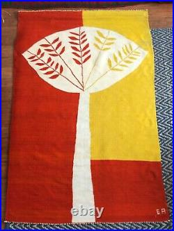 Large, Beautiful, Very Rare Evelyn Ackerman Tapestry