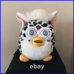 Large Furby Plush Stuffed Toy Big Eyes 16 Jumbo Nanco Tiger 1999 VERY RARE