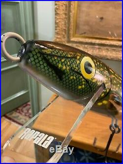 Large Giant Rapala Store Display Model Fishing Lure Very RARE