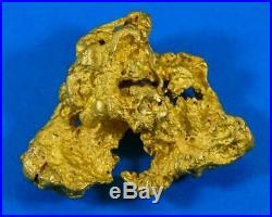 Large Natural Gold Nugget Australian 51.10 Grams 1.64 Troy Ounces Very Rare