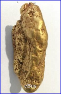 Large Natural Gold Nugget from Papuan New Guinea 83.5 Grams VERY Very Rare