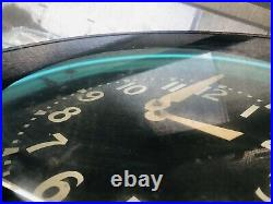 Large Vintage GLO-DIAL NEON CLOCK 26 VERY RARE-1940's-1950's