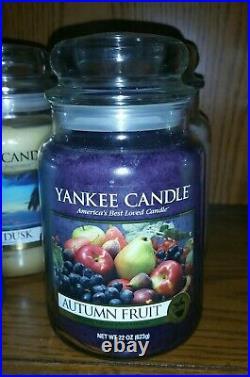 Large Yankee Candle Autumn Fruit 22oz Very Rare