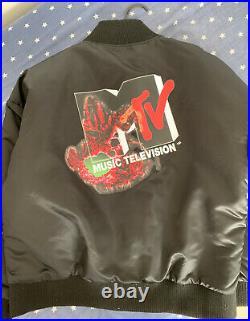 Limited Edition Lady Gaga Chromatica X MTV VMAs Bomber Jacket SIZE L VERY RARE
