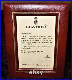 Lladro Venetian Seranade #1433 Glaze Very Rare Limited Edition of 750 Pcs