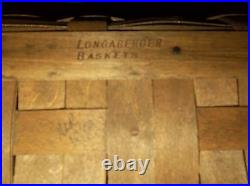 Longaberger VINTAGE VERY RARE 1983 FAMILY PICNIC BASKET