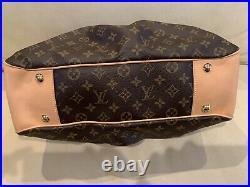 Louis Vuitton LV PL Large Boetie Monogram Purse Handbag Travel Tote VERY RARE